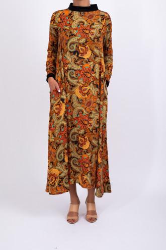Robe longue 100% viscose