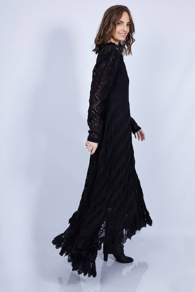 Robe longue bohème-chic