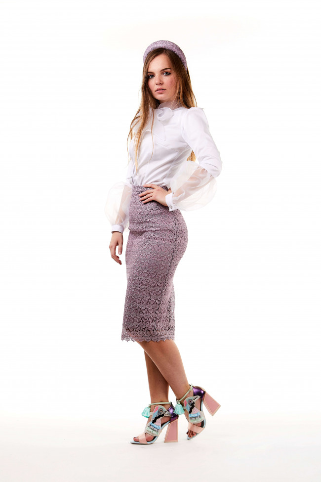 Kate Skirt Lilas