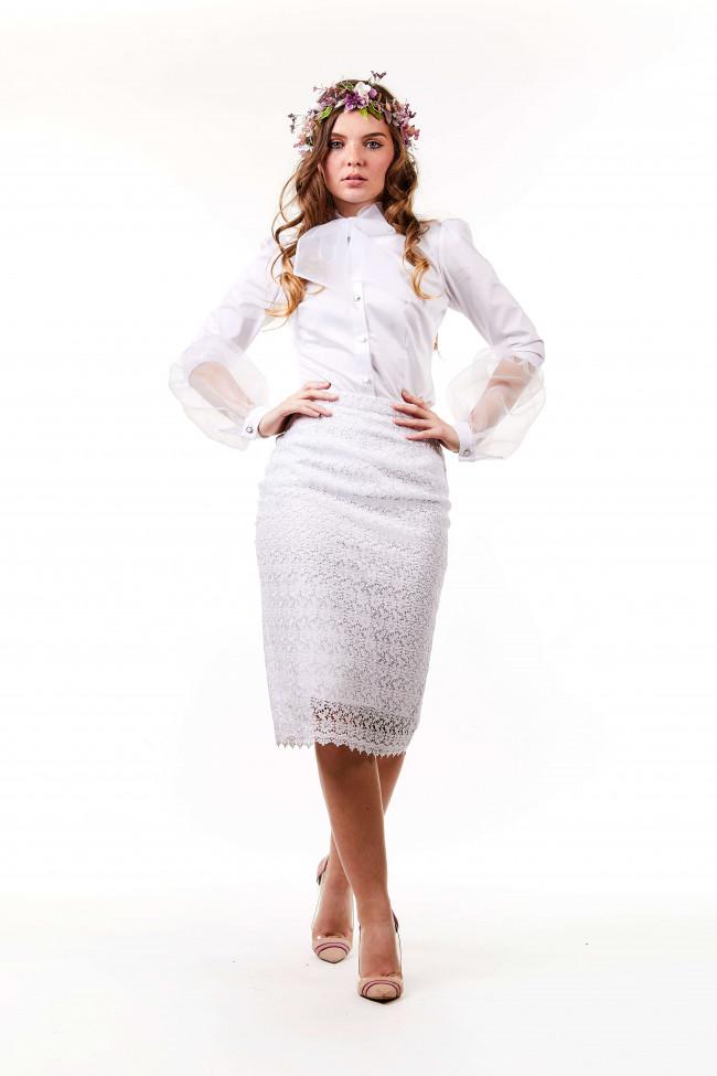 Kate Skirt Blanc