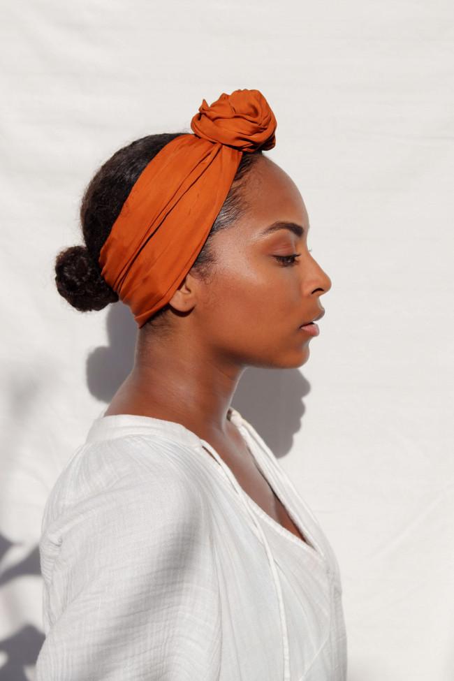 Headband caramel